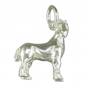 Sterling Silver Shire Horse Charm